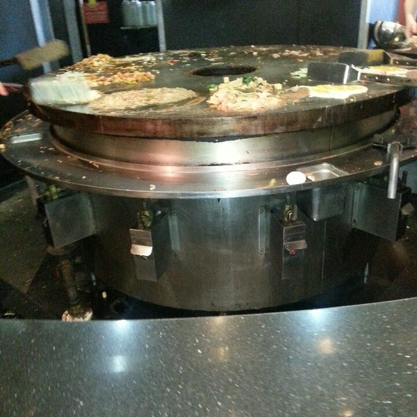 Photo taken at HuHot Mongolian Grill by Aqeel K. on 11/12/2013