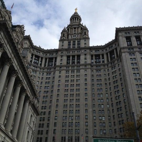 Photo taken at NYC Municipal Building by Kirsten P. on 11/25/2012