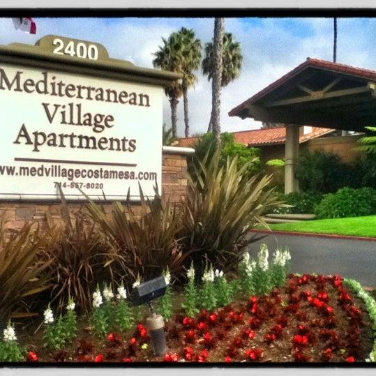 Mesa Village Apartments: Building In Costa Mesa