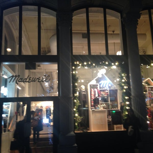 Photo taken at Madewell by Alexandra L. on 12/20/2013