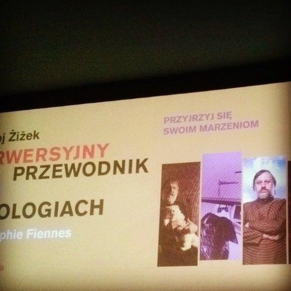 Photo taken at Kino Pod Baranami by Karolina K. on 12/16/2013