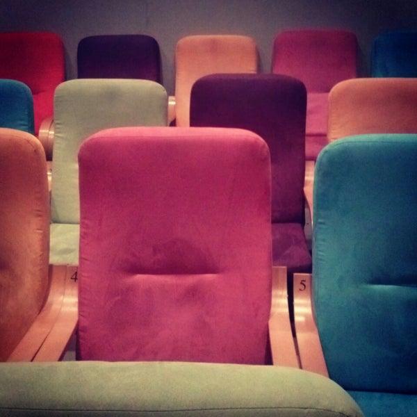 Photo taken at Kino Pod Baranami by Karolina K. on 2/6/2014