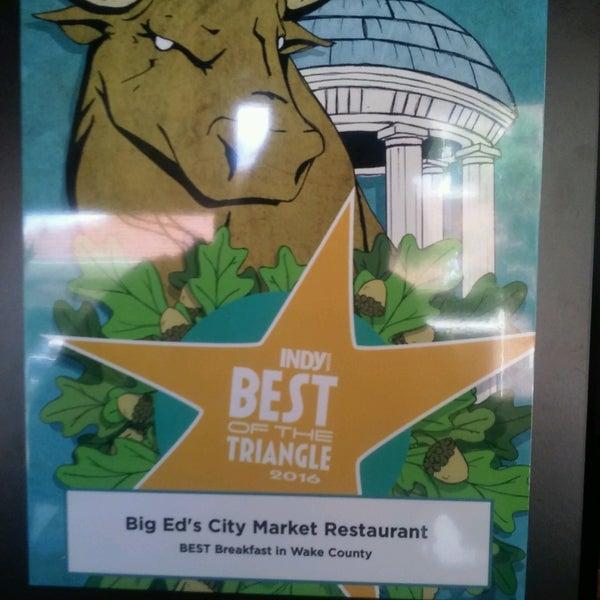 Photo taken at Big Ed's City Market Restaurant by Desiree G. on 8/12/2016