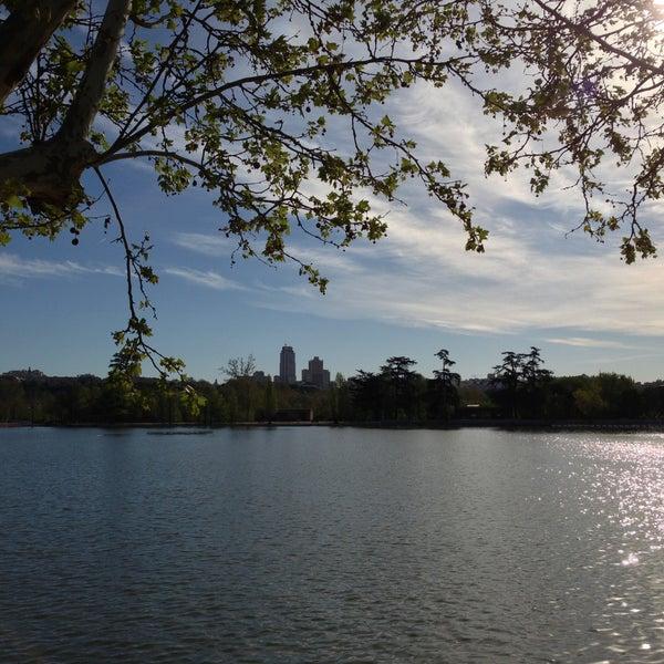 Photo taken at Lago de la Casa de Campo by Nicholas F. on 4/21/2013