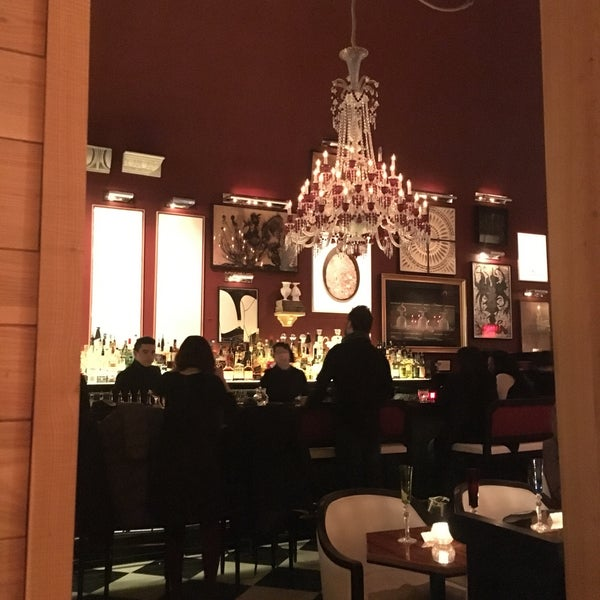 B Bar At The Baccarat Hotel Midtown East New York Ny