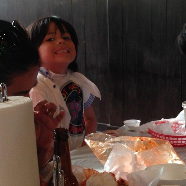 Photo taken at Hot N Juicy Crawfish by madai b. on 3/2/2013