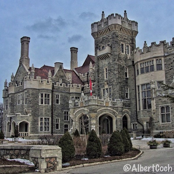 Photo taken at Casa Loma by Albert C. on 3/27/2013