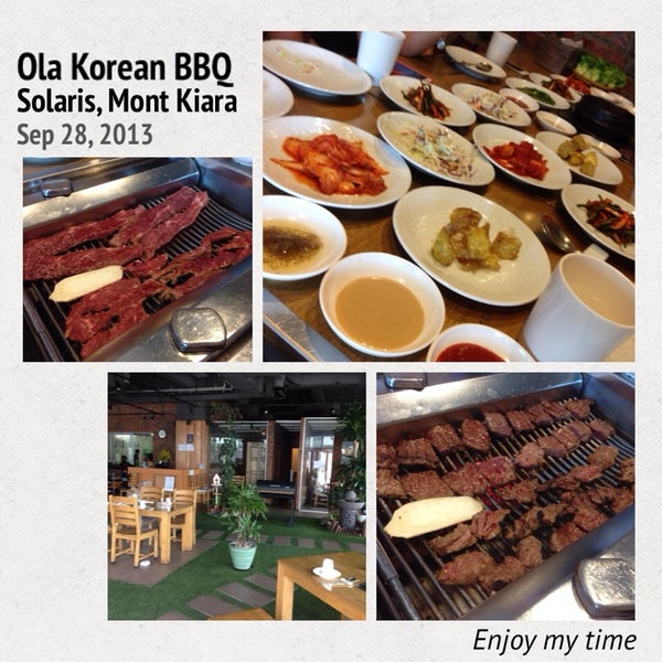 Photo taken at Ola! Barbeque Garden by Joe K. on 9/28/2013