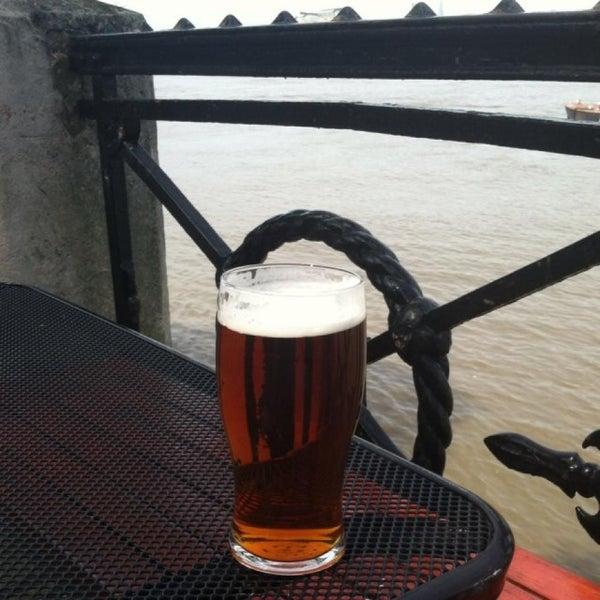 Photo taken at Trafalgar Tavern by Chris C. on 5/26/2013