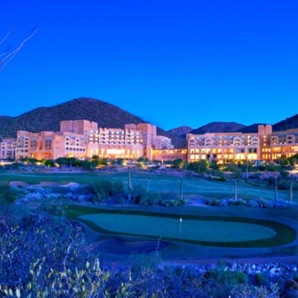 Resort Hotels In Tucson: JW Marriott Tucson Starr Pass Resort & Spa