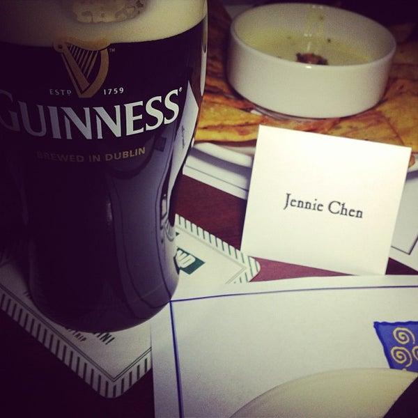 Photo taken at Fadó Irish Pub & Restaurant by Jennie C. on 3/7/2013