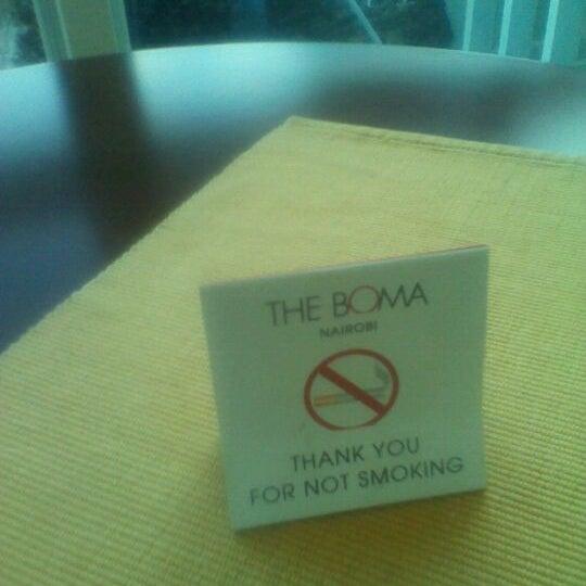 Photo taken at The Boma Hotel by Karanja K. on 12/1/2012