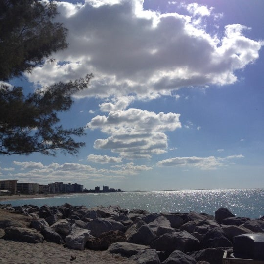 Photo taken at South Jetty / Humphris Park by David M. on 11/21/2012
