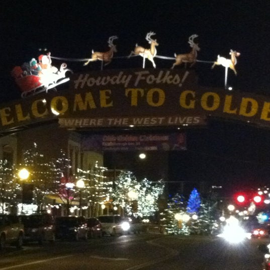 Photo taken at Golden, CO by Cathy S. on 12/21/2012