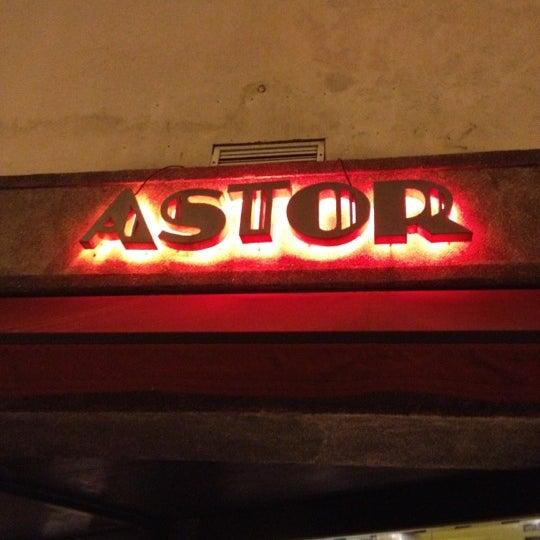 Photo taken at Bar Astor by Rodrigo F. on 10/15/2012