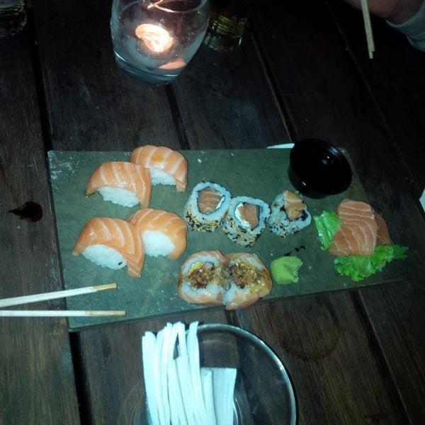 El Sushi y el sashimi especial!!!