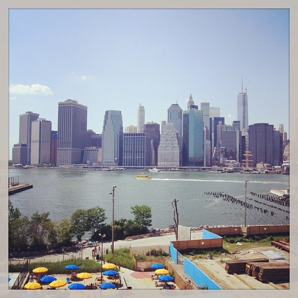 Photo taken at Brooklyn Bridge Park by Dmitry M. on 7/20/2013