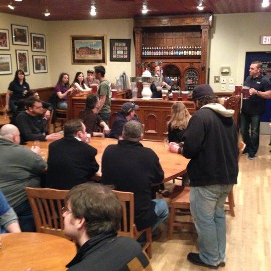 Photo taken at Samuel Adams Brewery by Calamity J. on 3/2/2013