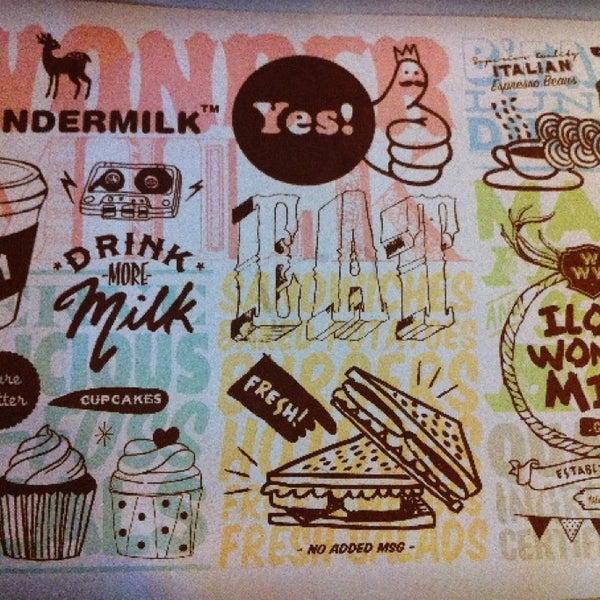 Photo taken at +Wondermilk by Cindy on 7/6/2013