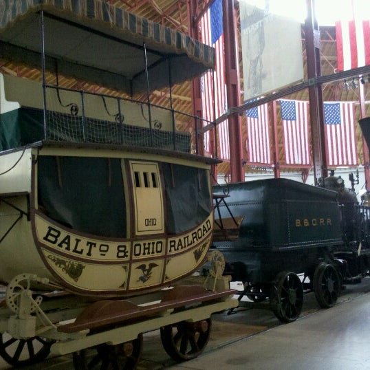 Photo taken at B & O Railroad Museum by Serena on 9/29/2012