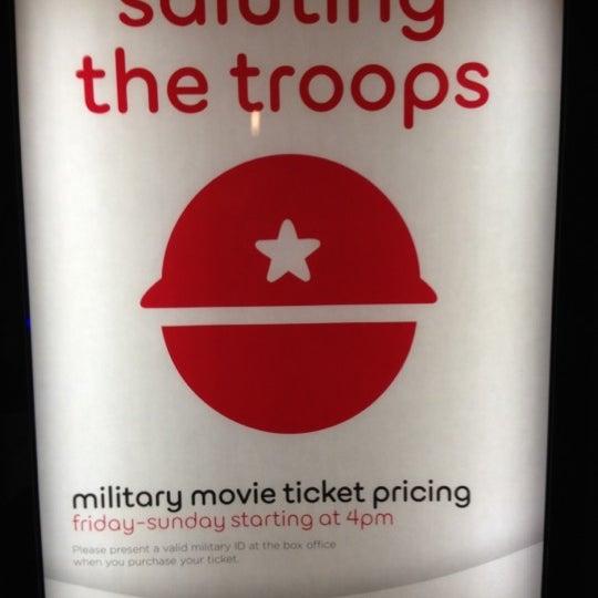 Photo taken at AMC Hampton Towne Centre 24 by Tony S. on 11/4/2012