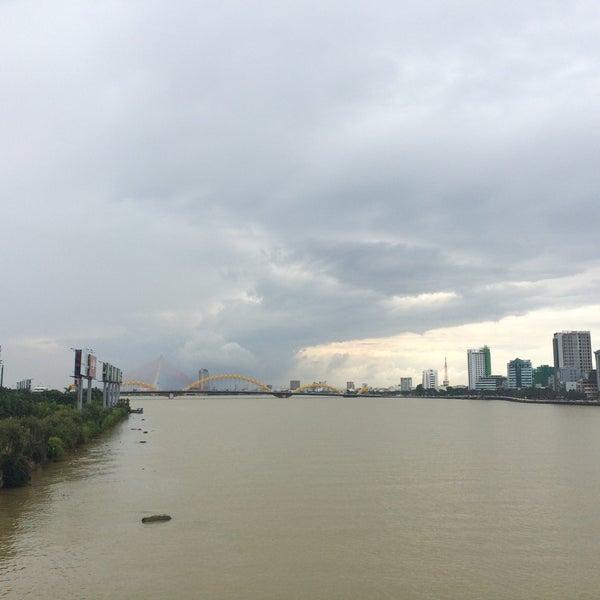 Photo taken at Han River Bridge by Eli S. on 11/24/2016