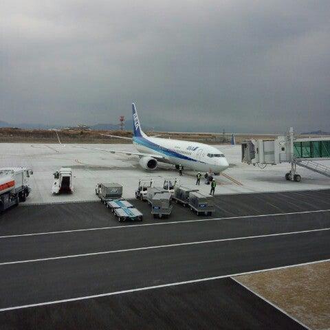 1/1/2013にりりが岩国錦帯橋空港 / 岩国飛行場 (IWK)で撮った写真