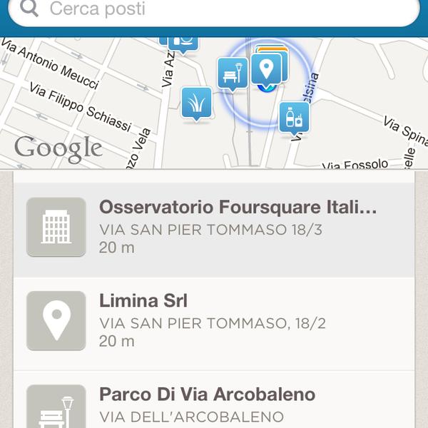 Foto scattata a Osservatorio Foursquare Italia HQ da Osservatorio 4sq Italia il 3/8/2013