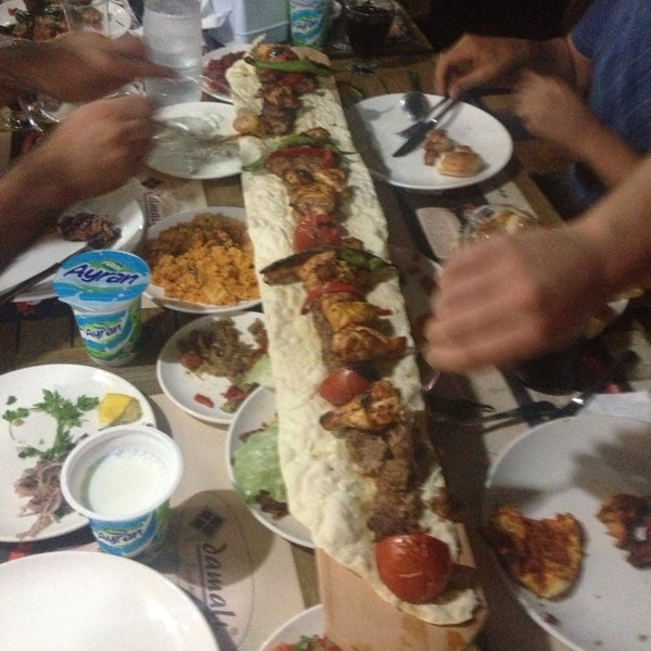 Photo taken at Damalı Restaurant by Erol B. on 7/24/2014