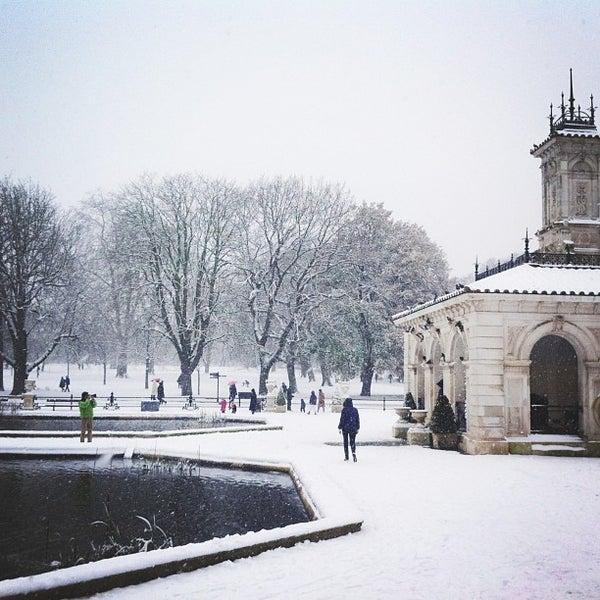 Photo taken at Kensington Gardens by Marie S. on 1/21/2013