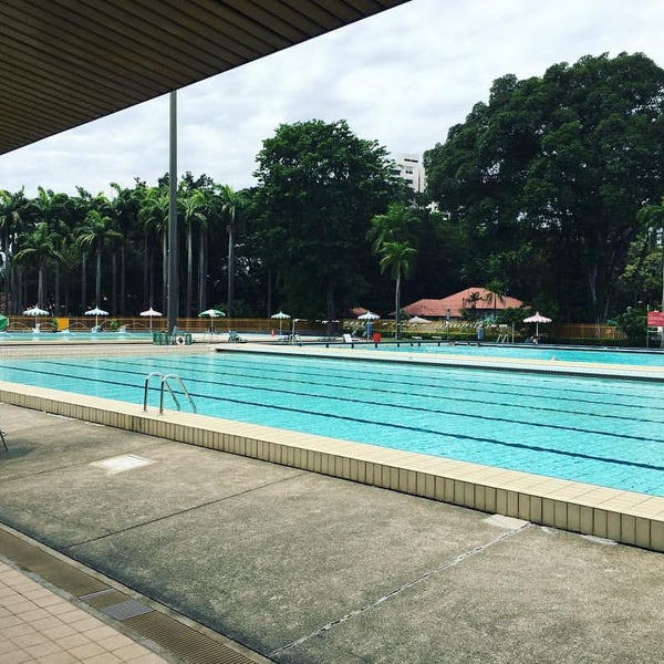 Katong Swimming Complex Pool In Marine Parade