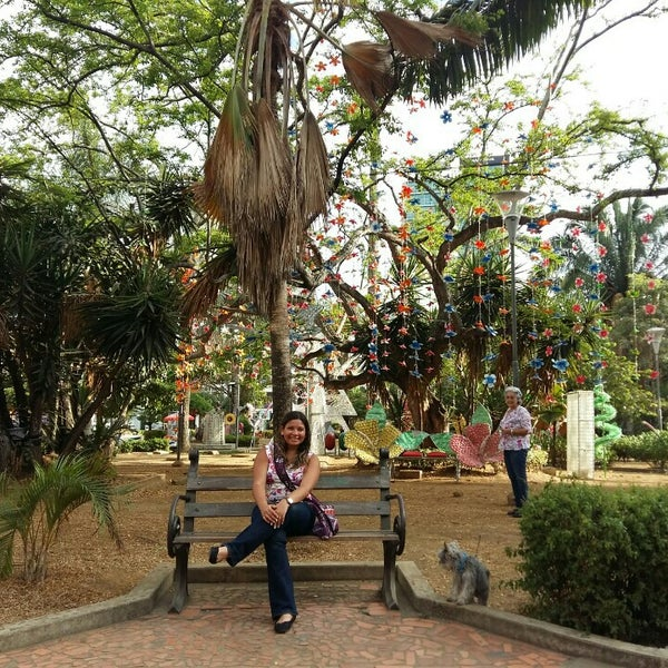 Photo taken at Parque Las Palmas by Renata A. on 1/3/2016