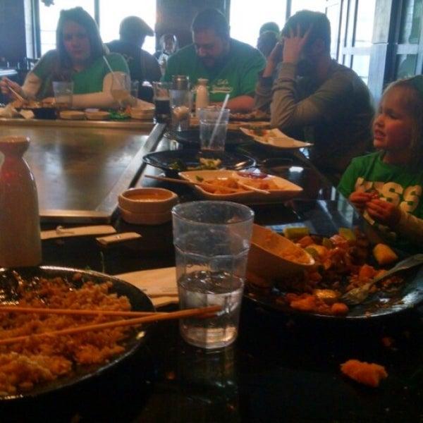 Photo taken at Samurai Japanese Steakhouse by Chris L. on 3/8/2015