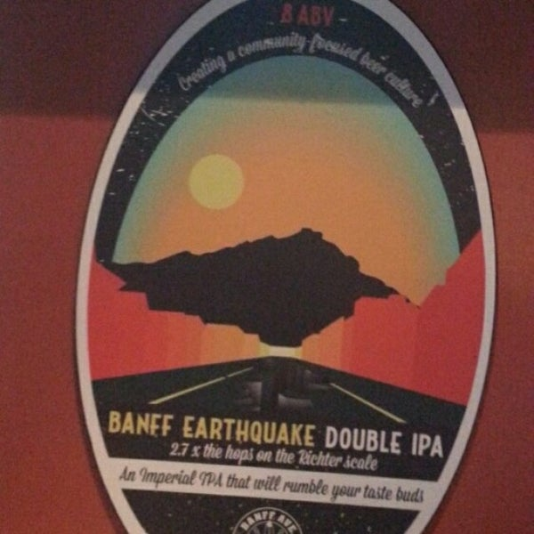 Photo taken at Banff Avenue Brewing Co. by Michael K. on 7/17/2015