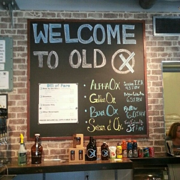 Photo taken at Old Ox Brewery by Michael K. on 7/27/2014