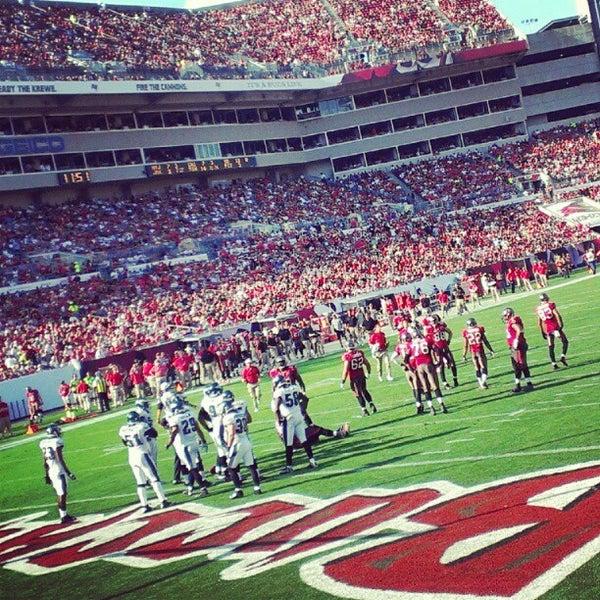 Photo taken at Raymond James Stadium by Blake C. on 12/9/2012