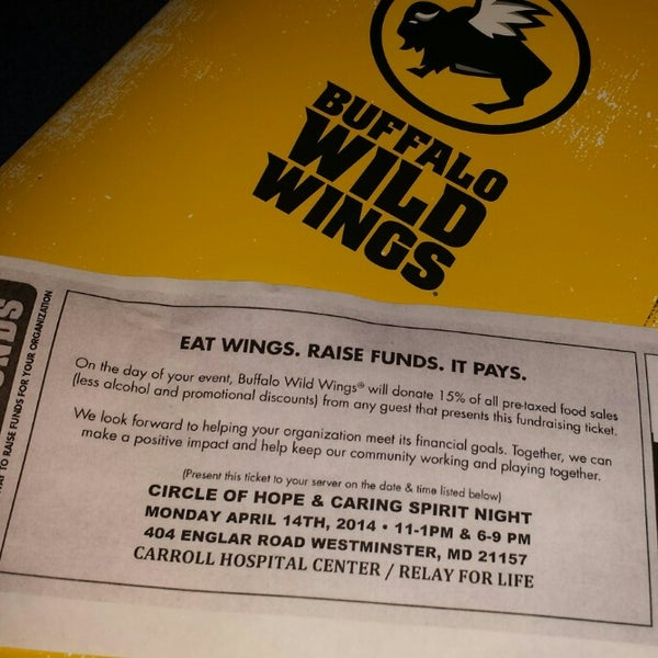 Photo taken at Buffalo Wild Wings by TRINA M. on 4/14/2014
