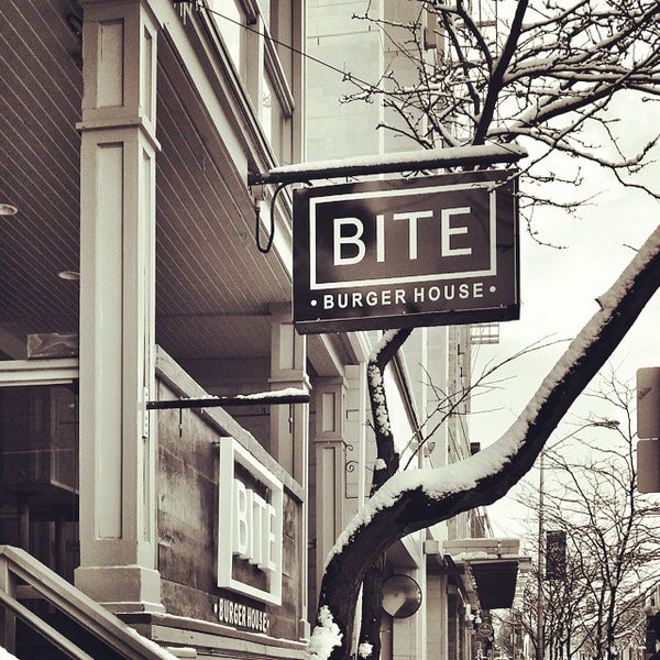 Photo taken at Bite Burger House by Abe on 3/17/2015