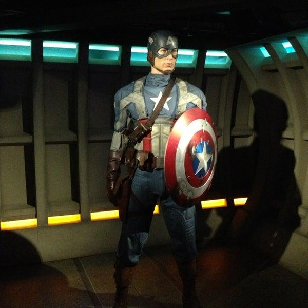 Sympa de croiser Iron Man et Cap'