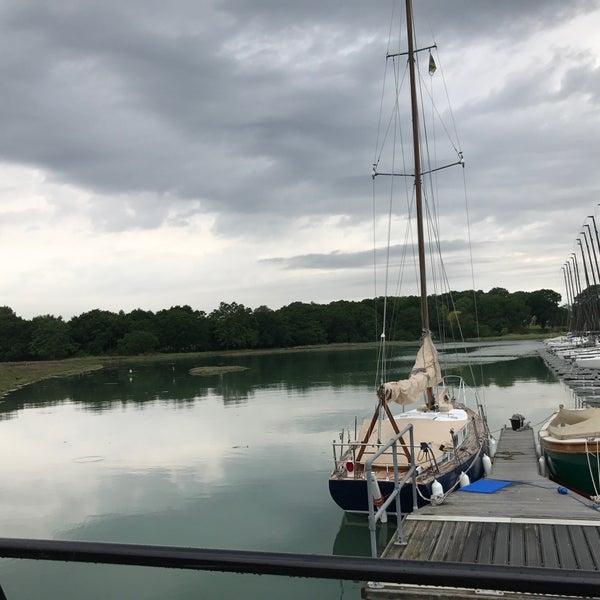 Photo taken at Hamble Point Marina by Tutty F. on 5/28/2017