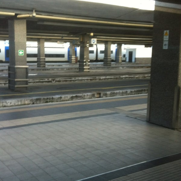Photo taken at Napoli Centrale Railway Station (INP) by Michael B. on 1/25/2013