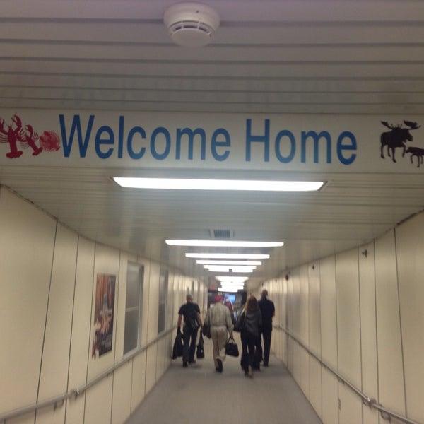 Photo taken at Portland International Jetport (PWM) by Jeremie M. on 10/3/2013