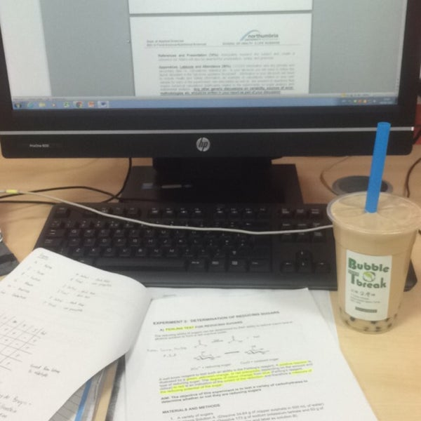 Photo taken at Northumbria University Library by Jie Yvin ☺. on 4/9/2016