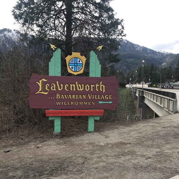 Photo taken at Town of Leavenworth by Todd W. on 4/9/2017
