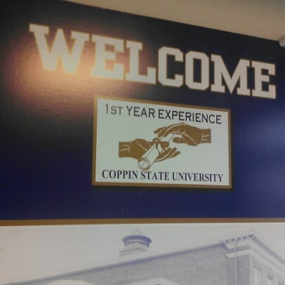 Photo taken at Coppin State University by King👑💵 on 11/7/2012
