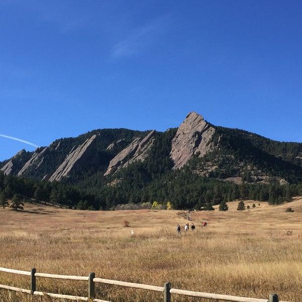 Photo taken at Colorado Chautauqua National Historic Landmark by Mark K. on 10/31/2015