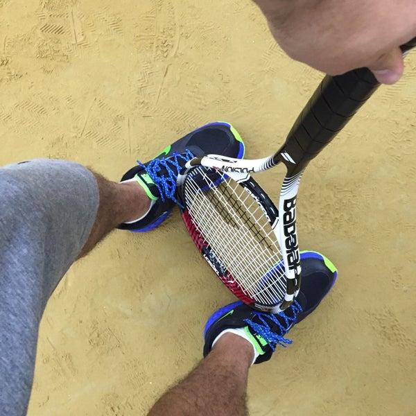 Photo taken at Central Park Tennis Club by Чекин Ч. on 11/12/2014