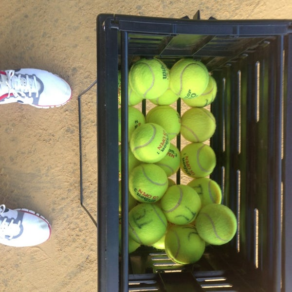 Photo taken at Central Park Tennis Club by Чекин Ч. on 6/15/2014
