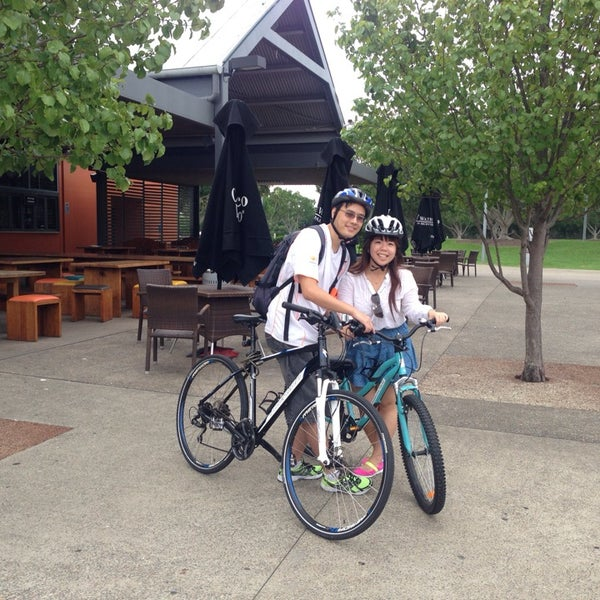 Photo Taken At Bike Hire Sydney Olympic Park By Roy S On 3