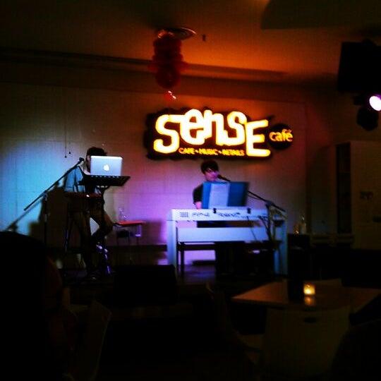 Photo taken at Sense Cafe by Ryuii C. on 2/7/2012
